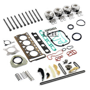 Engine Full Rebuild Overhaul Kit Piston Ø21mm For VW Golf GTI Audi 2.0 TFSI CDN