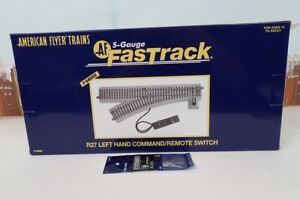 American Flyer S Gauge No.6-49885 R27 Left Hand Fast Track Command Remote Switch
