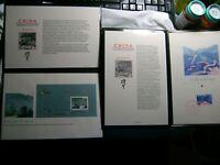 CHINA- (PRC-1979) Scott # 1479-1483-COMPLETE SET.FLEETWOOD BOOK