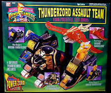 Bandai Morphin Power Rangers Thunderzord Assault Team Set of 4 Zords MIB 1994