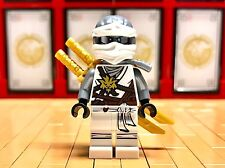 Lego Ninjago Zane Mini Figure day of the departed outfit 2 gold katana