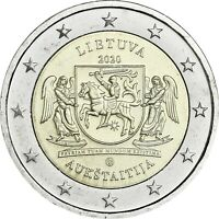 Litauen 2 Euro 2020 bfr. Litauische Ethnographische Regionen - Aukschtaiten