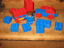 DUPLO LEGO TRAIN CARROZZA Driver Uomo playfigure assortiti costruzione mattoni Tow