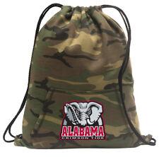 Alabama Cinch Pack Backpack COOL CAMO University of Alabama Bags