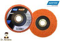 "Norton Blaze Rapid Strip Disc 115 125mm Weld Paint Rust Removal/Grinding 4.5"" 5"""