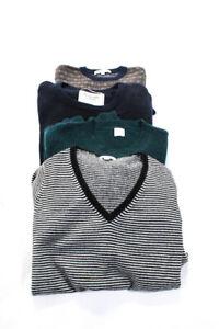 Zef Crew Cuts Boys Sweaters Black White Green Navy Size Medium/10/12 Lot 3