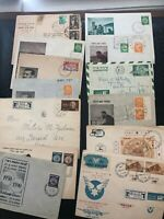 Collection of Israel Fdc And Postal Cover Lot Of 13 Rare