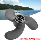 Black Boat Outboard Propeller Replacement For Tohatsu Nissan Mercury 2.5HP 3.5HP