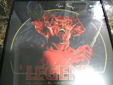 "Tim Currie Autographed ""Legend"" Lp/ Sealed/ Framed"