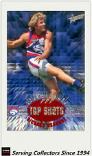 1996 Select AFL Trading Card Series 2 TOP SHOTS TS7 Rihcard Osborne (Footscray)