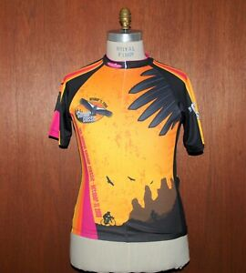 Condor Classic Cycling Jersey sz Large L California Race Tour Mt Borah