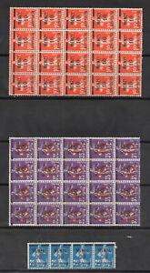 Memel MNH Stamps (Blocks)   (210090)