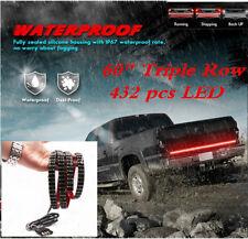 """60"""" Triple Row 432 pcs LED Tailgate Light Bar Reverse Brake Turn Signal light"""