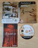 Sony PlayStation 2 PS2 PAL Game -  Resident Evil 4  - Limited Edition Steelbook