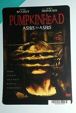 PUMPKINHEAD ASHES TO ASHES COVER ART MINI POSTER BACKER CARD (NOT a movie)