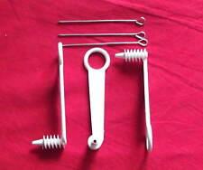 3 Stück Spiralschneider, Garnierer , Radischneider mit 3 St. Arretierungsstift