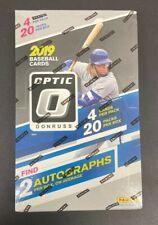 2019 Panini Donruss Optic MLB Baseball Sealed Hobby Box - Auto - IN HAND
