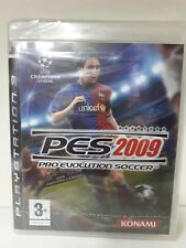 PES 2009 PRO EVOLUTION SOCCER PS3 NUOVO