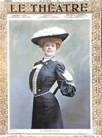 Collection of 22 Theatre prints.Fab.Dated 1905.Costume.Genuine.Colour.B/W.Sepia