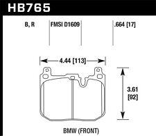 Disc Brake Pad Set-GTS Front Hawk Perf HB765W.664