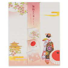 Maiko and Temple Japanese Letter Set