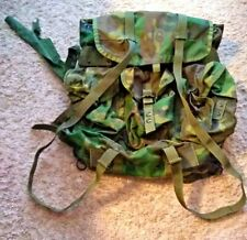 US ARMY LC 2 CAMO RUCKSACK W/FRAME NEW SHOULDER STRAPS 1990'S