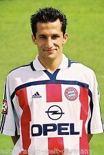 Hasan Salihamidzic Bayern München 2000-01 seltenes Foto