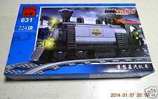 Enlighten Building Toy 224 piece Bricks Train Heavy Duty Steam Locomotive #631