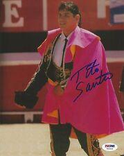Tito Santana Signed WWE 8x10 Photo PSA/DNA COA El Matador WWF Picture Autograph
