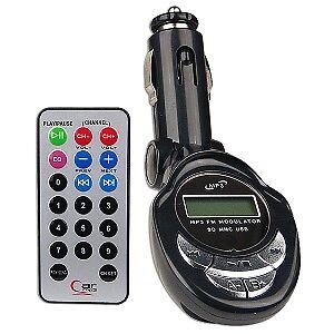 MP3 WIRELESS FM RADIO AUTO TRASMETTITORE IPOD USB SD RADIO ASCOLTARE MUSICA