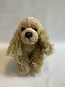 Animal Alley Toys R Us Cocker Spaniel Plush Dog Light Brown new with tags