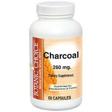 Botanic Choice Charcoal, 260 mg. 60 Capsules