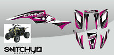 STICKERS KIT GRAPHIC ATV QUAD DROP PINKY POLARIS SCRAMBLER from 1995 al 2009