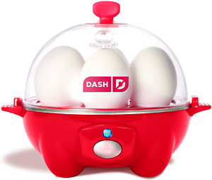 Dash Rapid Egg Cooker: 6 Egg Capacity Electric Egg Cooker for Hard Boiled Eggs,
