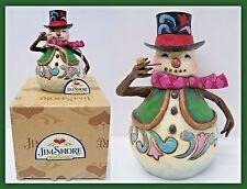 Jim Shore Heartwood Creek Snowman Sno' Time Like Wintertime #4022931