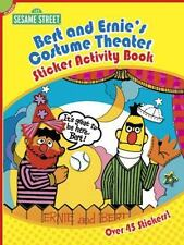BERT AND ERNIE'S COSTUME THEATER STICKER ACTIVITY BOOK, Sesame Street, acid-free