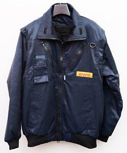 DHL SIOEN Employee Jacket & Gilet Men S Removable Sherpa liner lining Coat Vest