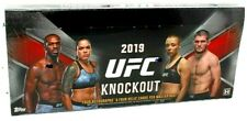 2019 Topps UFC Knockout Hobby Box FREE PRIORITY MAIL SHIPPING