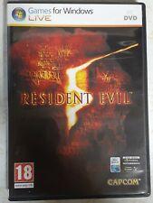 Resident Evil 5 (PC, 2009) used