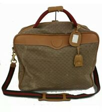 GUCCI Authentic Travel Bag With Shoulder Strap With Lock and Keys