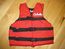 CABELA'S Child Life/Ski Flotation Vest, 30-50 lbs, Type III PFD, Excellent Cond!