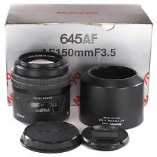 Mamiya 645 AF 150mm 1:3.5 for Mamiya AF AFD II III and Phase One 645DF DF+ Boxed