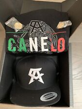 Canelo �lvarez x Hennessy Collectible promotional Box with Shirt, Hat & 2 Pins