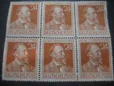 6 FRANCOBOLLI DEUTSCHE POST 24. HEINR. v. STEPHAN 1897