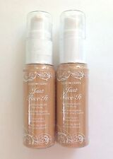 Lot of 2 ~ HARD❤CANDY Just Face It Featherweight ONE STEP Foundation~ Light