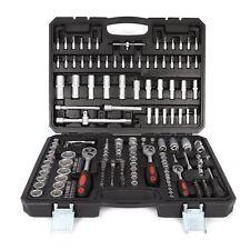 Socket Set 193pcs Screwdriver Bits Ratchet Handle Torx 1/2'' 1/4'' 3/8'' Tool