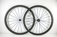 Ultra Light 700C 38mm Clincher Wheel 23mm Width Carbon Bicycle Wheelset From USA