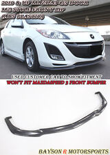 MS-Style Front Lip (Urethane) Fits 10-11 Mazda 3 4/5dr