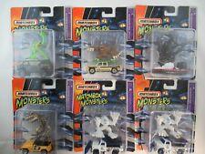 Matchbox Monsters complete set incl wheel variation 6 pieces