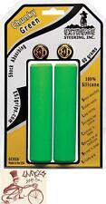 ESI CHUNKY SILICONE 32MM GREEN MTB BICYCLE GRIPS